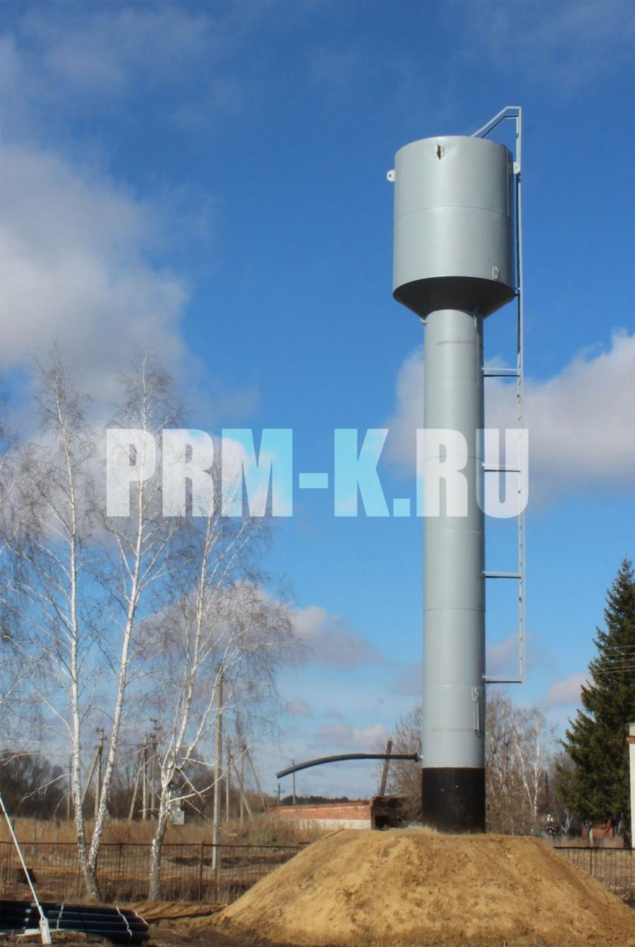 Завод изготовитель водонапорной стальной башни системы рожновского
